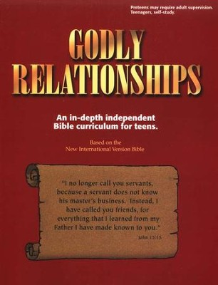Godly Relationships: An In-Depth Independent Bible  Curriculum for Teens  -     By: Kaye Freeman