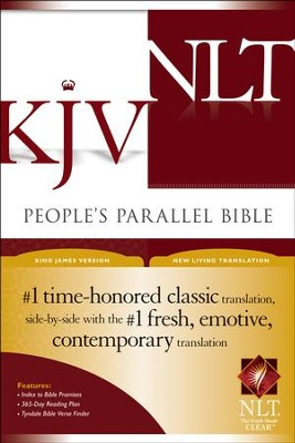 KJV/NLT People's Parallel Bible Hardcover  -