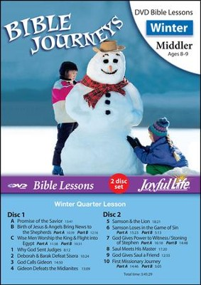 Bible Journeys Middler (Grades 3-4) Bible Lesson DVD   -
