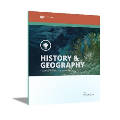Lifepac History & Geography Workbook Set, Grade 8   -