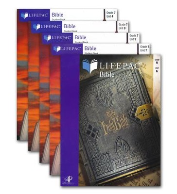 Lifepac Select Life of Christ, Workbook Set   -