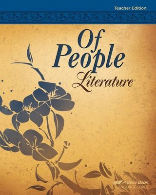 Of People Literature Teacher Edition (Grade 7)   -