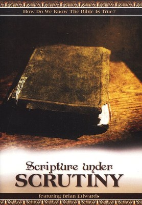 Scripture Under Scrutiny DVD   -     By: Brian Edwards