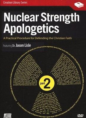 Nuclear Strength Apologetics, Part 2 DVD   -     By: Dr. Jason Lisle
