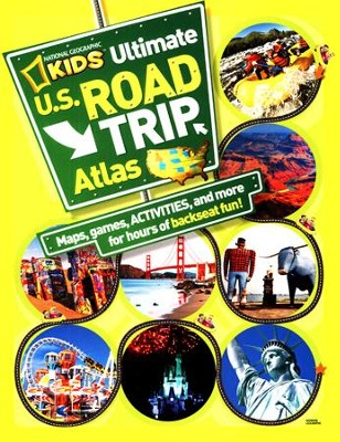 National Geographic Kids Ultimate U.S. Road Trip Atlas: Maps, Games, Activities, and More for Hours of Backseat Fun  -     By: Crispin Boyer