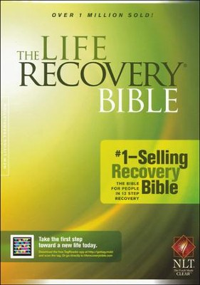 NLT Life Recovery Bible, Softcover   -     Edited By: David Stoop, Stephen Arterburn