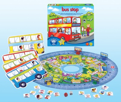 Bus Stop Addition and Subtraction Game  -