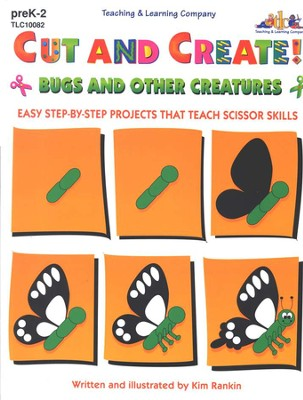 Cut and Create! Bugs and Other Creatures   -