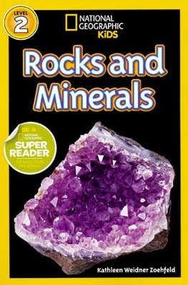 National Geographic Readers: Rocks and Minerals  -     By: Kathy Weidner Zoehfeld