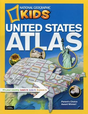 National Geographic Kids United States Atlas  -