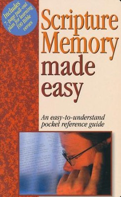 Scripture Memory Made Easy   -     By: Mark Water