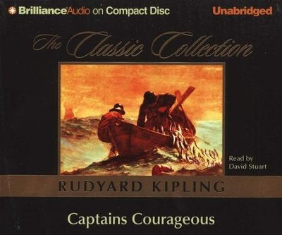 Captains Courageous -Unabridged Audiobook on CD  -     Narrated By: David Stuart     By: Rudyard Kipling