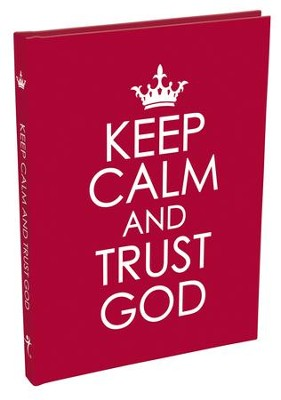 Keep Calm and Trust God Gift Book  -