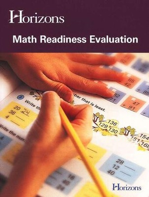 Horizons Math Readiness Evaluation Test   -