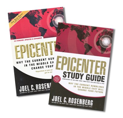 Epicenter, Book and Study Guide   -     By: Joel C. Rosenberg