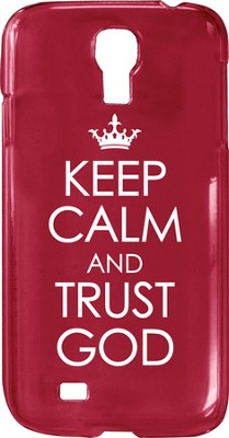 Keep Calm and Trust God, Smartphone Cover  -