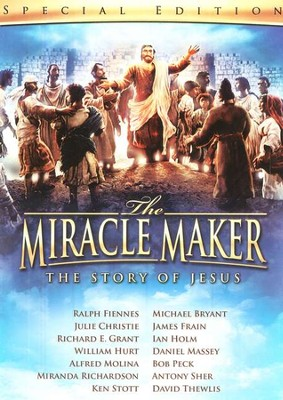 The Miracle Maker: The Story of Jesus, Special Edition DVD   -