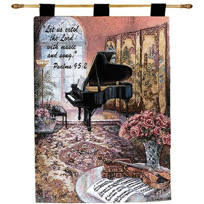 Let Us Extol the Lord With Music Wallhanging  -     By: Lena Liu