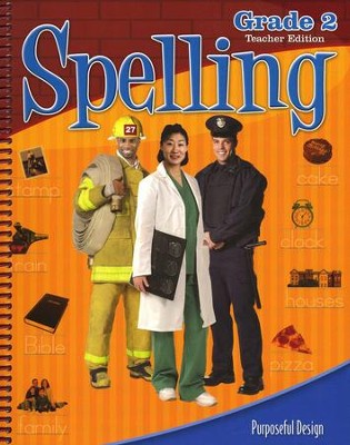 ACSI Spelling Grade 2 Teacher Edition Revised  -