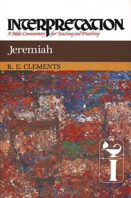 Jeremiah, Interpretation Commentary  -     By: Ronald Clements
