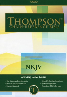 NKJV Thompson Chain-Reference Bible, Hardcover   -