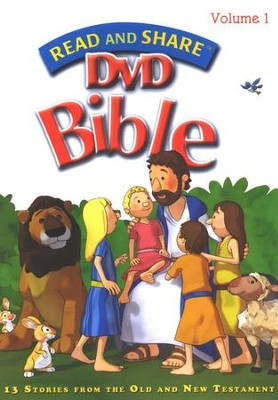 Read and Share DVD Bible Volume #1  -     By: Gwen Ellis
