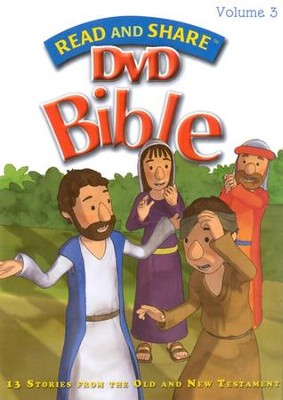 Read and Share DVD Bible Volume #3   -     By: Gwen Ellis