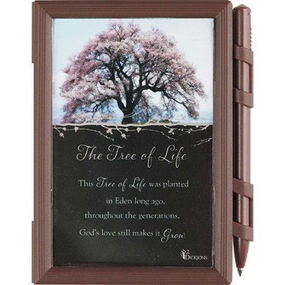 Tree of Life Memo Pad and Pen  -