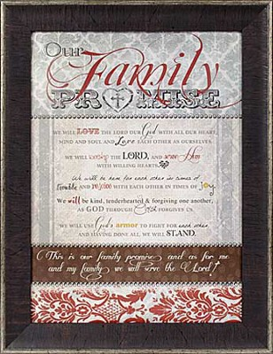 Family Promise Framed Print  -