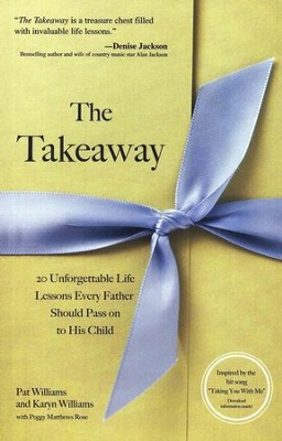 The Takeaway: 20 Unforgettable Lessons Every Father Should Pass On to His Daughter  -     By: Pat Williams, Karyn Williams, Peggy Matthews Rose