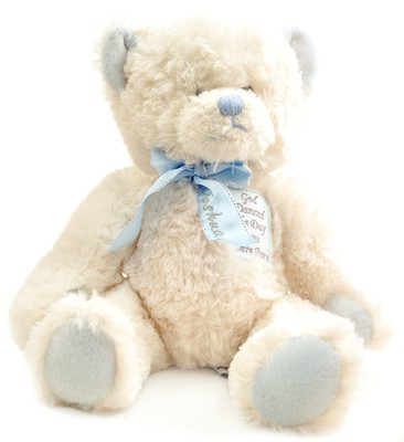 Personalized, God Danced the Day you Were Born, Bear,  Blue  -