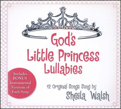 God's Little Princess Lullabies CD   -     By: Sheila Walsh