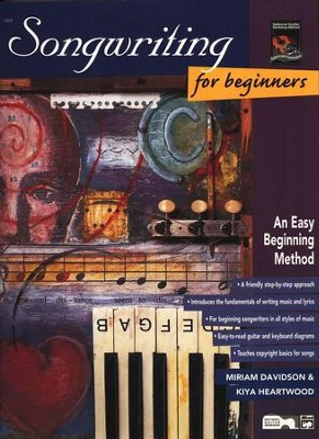 Songwriting for Beginners, Book Only   -