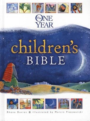The One-Year Children's Bible   -     By: Rhona Davies