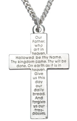 The Lord's Prayer Cross   -