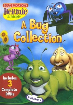 Hermie & Friends: A Bug Collection #1, DVD Set   -     By: Max Lucado