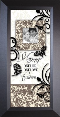 Marriage... Sharing Life. Framed             -