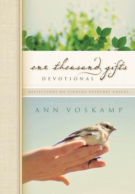 One Thousand Gifts Devotional Journal  -     By: Ann Voskamp