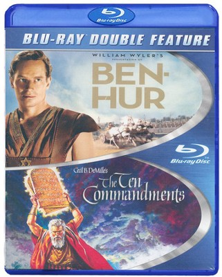 Ben Hur/Ten Commandments, Double Feature Blu-ray   -