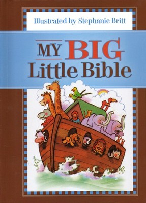 My Big Little Bible: Includes My Little Bible, My Little Bible Promises, and My Little Prayers  -     By: Stephanie Britt