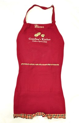 Personalized, Grandma's Kitchen Apron   -