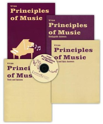 Landmark's Freedom Baptist V730, Principles of Music, 2 semesters   -