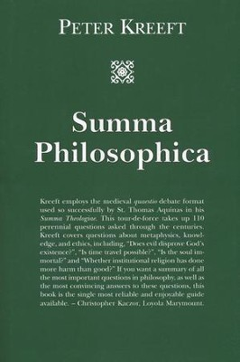 Summa Philosophica  -     By: Peter Kreeft