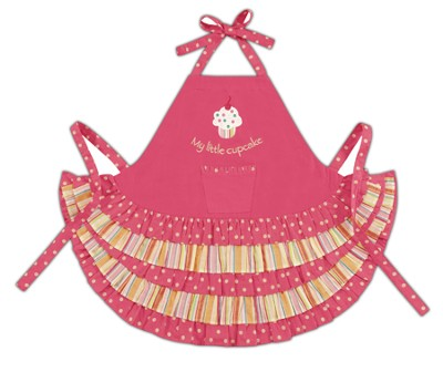 Little Cupcake Child's Apron  -