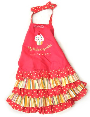 Personalized, Little Cupcake Child's Apron   -