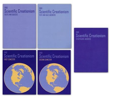 Landmark's Freedom Bapt. Science S160, Scientific Creationism Gr 12    -