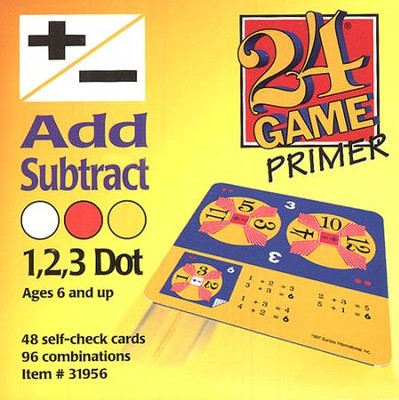 24 Game: Addition & Subtraction (48 Cards)  -