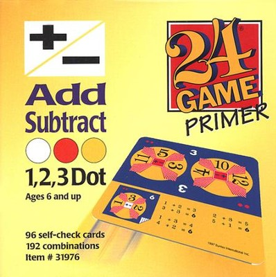 24 Game: Addition & Subtraction (96 Cards)  -