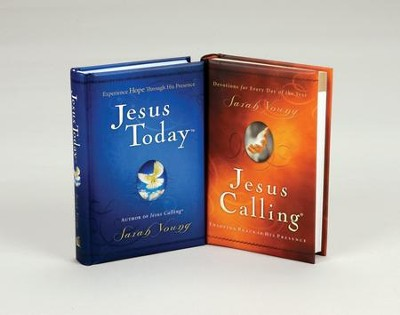 Jesus Calling/Jesus Today, 2 Volumes   -     By: Sarah Young