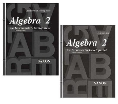 Saxon Algebra 2 Answer Key & Tests, 3rd Edition   -